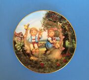 Hummel Apple Tree Boy And Girl Limited Edition Plate
