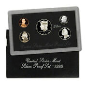 1995-s United States Mint Silver Proof Set 5-coins W/box + Ogp