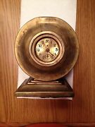 Small Antique Ansonia Desk Shelf Or Mantel Clock Dated Pat D May 3rd 1892