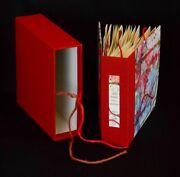 Paula Sager / Red Thread Two Women Artist Book Charles Hobson Limited Signed Ed