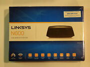 New Linksys E2500 N600 Advanced Simultaneous Dual-band Wireless-n Router