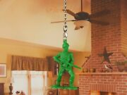 Toy Story Green Army Men Ceiling Fan Pull Light Lamp Chain Decoration K1293 A