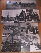 Brady Collection U.s. War Dept. General Staff Lot Of 9 Photos National Archives