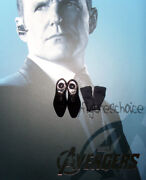 Hot Toys - 16 The Avengers Agent Phil Coulson Black Shoes W/socks