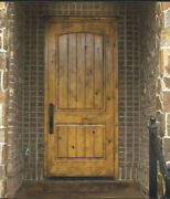 Tuscany Style Knotty Alder Entry Door