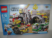 New 4204 Lego City The Mine Building Toy Sealed Box Retired Rare A