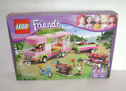 New 3184 Lego Friends Adventure Camper Building Toy Sealed Box Retired A