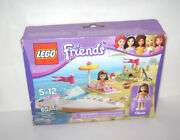 New 3937 Lego Friends Oliviaand039s Speedboat Building Toy Sealed Box Retired A