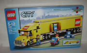 New 3221 Lego City Truck Yellow 18 Wheeler Building Toy Sealed Box Retired Rare