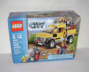 New 4200 Lego City Mining 4 X 4 Car Building Toy Sealed Box Retired Rare A