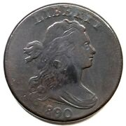 1800/79 S-194 R3 Draped Bust Large Cent Coin 1c
