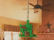 Toy Story Green Army Men Ceiling Fan Pull Light Lamp Chain Decoration K1293 K