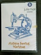 Antique Sewing Machines Machine Embroidery Cd By Judith Hall