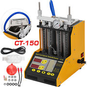 Ct150 Ultrasonic Fuel Injector Cleaner Tester For Car Motorcycle 4-cylinder
