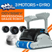 Dolphin Odyssey Commercial Robotic Pool Cleaner For Hotels, Apartments And Public