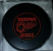 1964-65 Cphl Chl Memphis Wings Vintage Hockey Official Game Puck Scarce Read