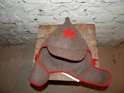 Soviet Russian Red Army Soldier Cap Hat Budenovka Sizes 59