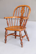 Antique English Windsor Childand039s Chair