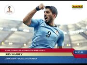 2018 Panini Instant World Cup 49 Luis Suarez Sold Out