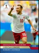 2018 Panini Instant World Cup 50 Christian Erikson Sold Out