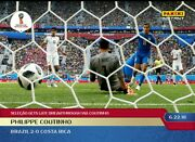 2018 Panini Instant World Cup 52 Philippe Coutinho Sold Out
