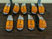 Kenworth T660 W900 Paccar Led Cab Marker Lights Used Genuine 07785aa Set Of 9