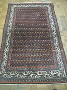 Antique Persian Hamadan Rug In Excellent Condition 43 X 6'11 All Nat. Dyes