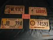 Georgia,mississippi License Plates,pick 1 Only ,1996 Olympics,so. Miss Univ.