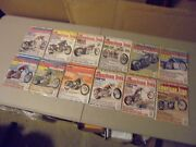 Lot Of 12 2005 American Iron Motorcycle Magazines,complete Year Harley Strong
