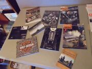 Lot Of All H-d Harley Davidson Motorcycle ,annual Catalogs,magazines.phamlets, F