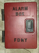 Fdny Fire Alarm Emergency Old Call Box Telephone Vintage Phone Police New York