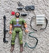 Rambo The Force Of Freedom Coleco Snakebite Very Rare Vintage Action Figure