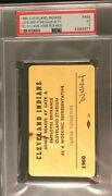 1960 Ted Williams 500 Hr Psa Ticket Pass At Cleveland Indians Vs Boston Red Sox