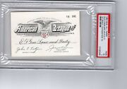 1964 Tony Conigliaro Red Sox 1st Hr/youngest Grand Slam Full Ticket Pass Psa
