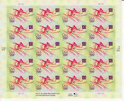 Beijing Summer Olympic Games Stamp Sheet -- Usa 4334 42 Cent 2008 Olympics