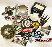 06-09 Yz450f Yzf450 Big Bore Stroker Kit Crank Cylinder Complete Top Bottom 500c
