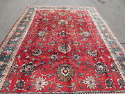 10x8 Handmade Rug Rug Circa 1979 100 Wool Excellent Condition