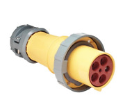 Marinco M5100c9r Boat 100a 120 / 208v 4-pole 5-wire Female Connector For Inlet