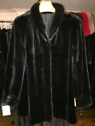 Chicago Fur Mart Size 12 Brand New Ranch Reversible Sheared Mink Jacket12000.00