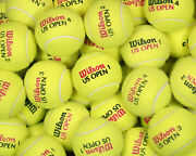 100 Used Tennis Balls Free Ship And Free Recycling Support Recycleballs Non Profit