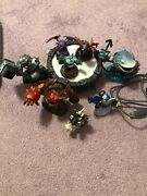 Xbox 360 Skylander Giants Game, Portal Of Power And 8 Characters