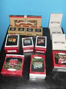 14 Lot Hallmark Yuletide Central Trestle/ornaments And Lionel Freedom