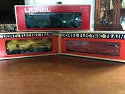 Lionel Boxcar Lot - 3 New Freight Boxcars