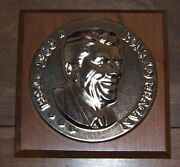 Bust Of Ronald Reagan Plaque 3d - Summitville Tiles Limited Edition - Orig. Box