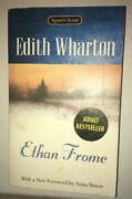 Ethan Frome By Edith Wharton And Anita Shreve--used Paper Back