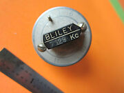 Vintage Wwii Quartz Crystal Bliley Variable 7129 Kc Frequency Vf1 Bind3-31