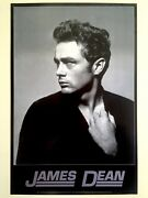James Dean Foundtion Rare 1995 Iconic Roy Schatt 1954 Photo Collectorand039s Poster