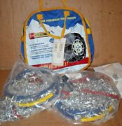 Les Schwab Quick Fit Sport Tire Snow Chains, Stock 2337-s, Never Used