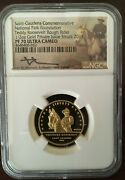 2017 Teddy Roosevelt 1/2 Oz Gold Proof 70 Medal With A Mecanti-signature Label