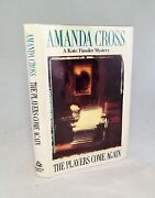 The Players Come Again-amanda Cross-signed-true First U.s. Edition/1st Printing